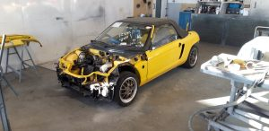 Honda Beat PP1 Yellow