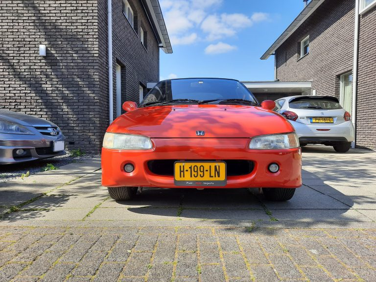 Honda Beat PP1 Red