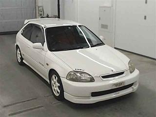Auction 75332 Honda Civic EK9 1997